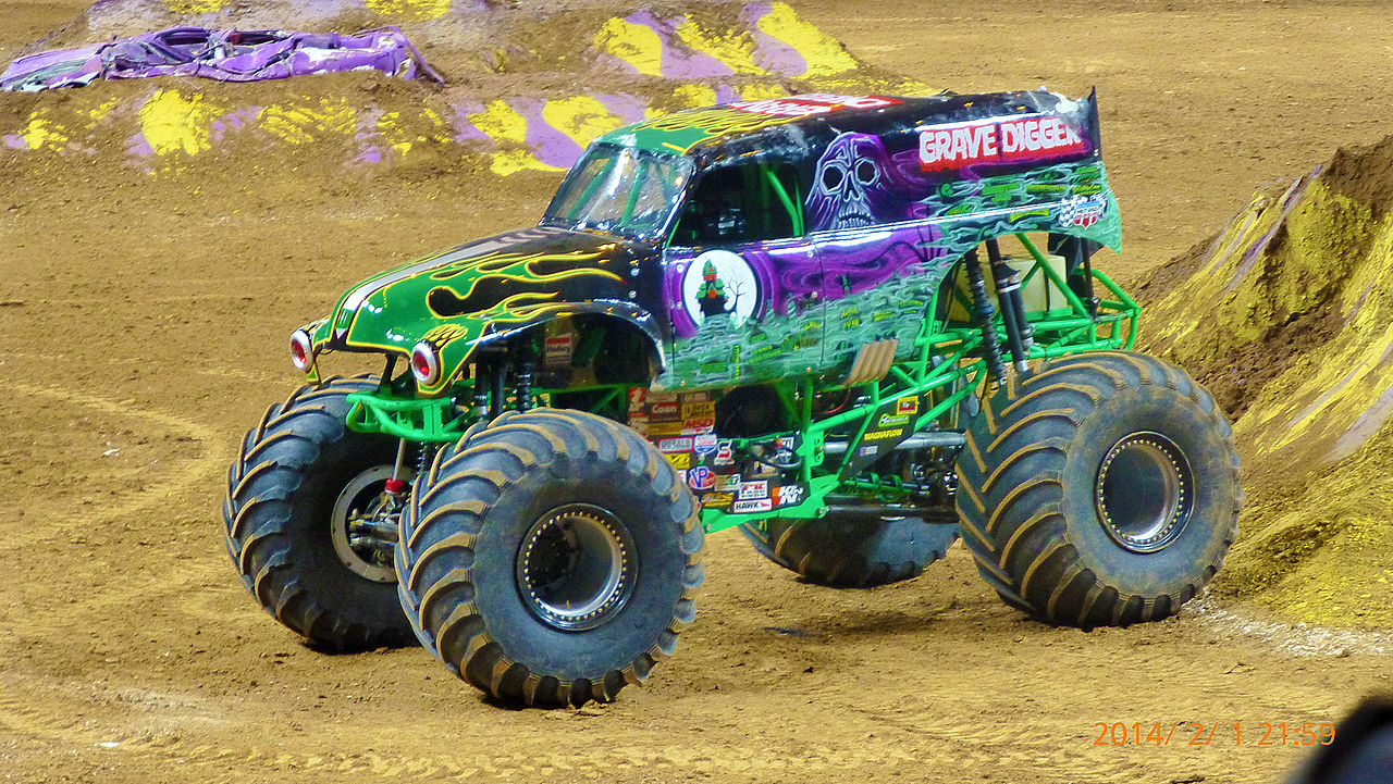 Son Uva Digger Monster Jam Coloring Pages