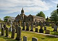 Graveyard at Newsham St. Anne's church - geograph.org.uk - 1528387.jpg