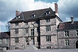 Great Castle House - Image: Great Castle House, Monmouth, 1959 geograph.org.uk 64748