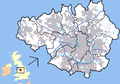 Greater Manchester outline map with England, G-Man.png