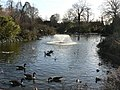 Greenwich Park, duck pond and fountain - geograph.org.uk - 651499.jpg