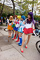 Group Portrait of Sailor Moon Cosplayers at CWT41 20151212.jpg