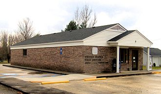 Gruetli-Laager, Tennessee - Gruetli-Laager's post office