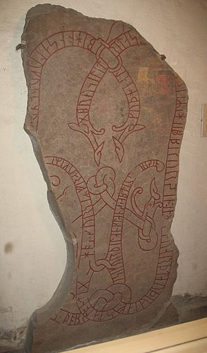 History of Finland - The runestone Gs 13 documents an early 11th-century Swedish Viking who died in Finland.