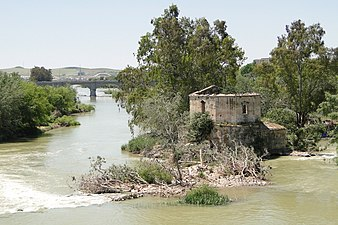 Guadalquivir River and Ruined Fortification - Cordoba - Spain