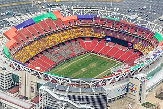 FedExField American football stadium