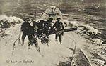 Guerre 14-18-U-Boot au combat-vers 1917