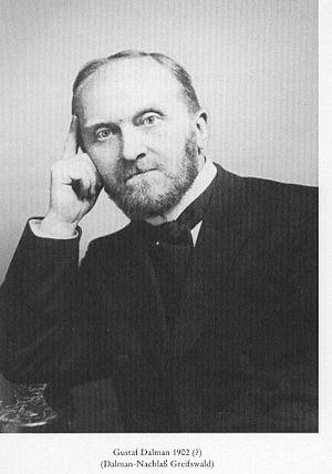 Gustaf Dalman - Gustaf Dalman.