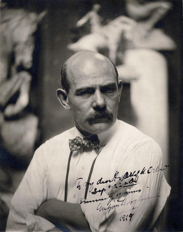 Gutzon Borglum 1919