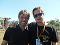 Guy with comedian John Bishop.jpg