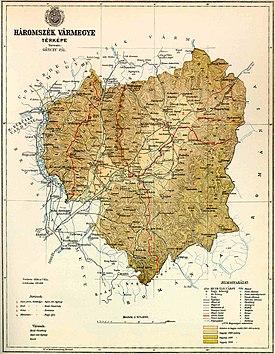 Háromszék county map.jpg