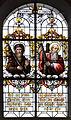 Hürbel Pfarrkirche Fenster Apostel Jakobus major und Andreas.jpg