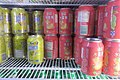 HK MK 金甲韓國料理 Gold Beetle Korean Restaurant cold soft drink canned 康師傅 Dr Kon iced red tea April 2017 IX1.jpg