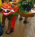 HK Stanley International Dragon Boat Championship 2013 a wooden dragon head.jpg