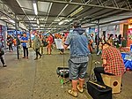 HK TST Star Ferry Piers street music The Flame Live evening May-2013.JPG