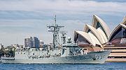 HMAS Sydney (FFG 03) at IFR