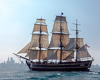 Bounty (1960 ship) - Image: HMS Bounty II