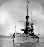 HMS Indomitable Quebec Tercentenary 1908 LAC 3394052.jpg