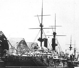 HMS Repulse (1892) starboard quarter.jpg
