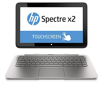 2-in-1 PC - HP Spectre x2, a modern 2-in-1 detachable