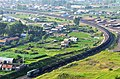 HXN5货运列车经过博克图镇 - panoramio.jpg