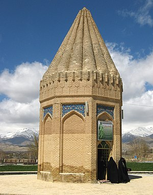 Habakkuk - Shrine of Habakkuk in Tuyserkan, Iran.