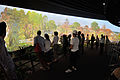 Hacking Space Participants Watch Panorama on Human Evolution - Science Exploration Hall - Science City - Kolkata 2016-03-29 2953.JPG