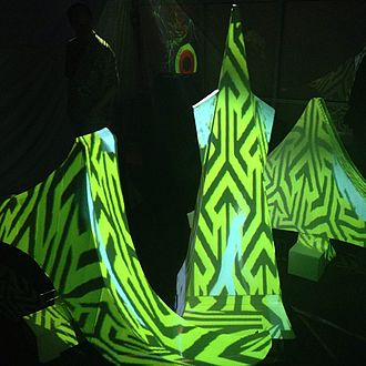 Light art - Projection mapping (San Francisco)