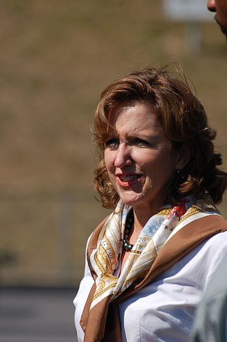 Kay Hagan - Hagan at a Barack Obama rally in 2008.
