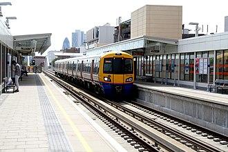 Haggerston railway station - Station platforms