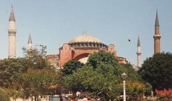 Hagia Sophia, Istambul, Turquia, Junho 1994