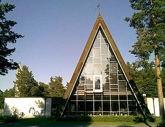 Hailuoto - Image: Hailuodon kirkko
