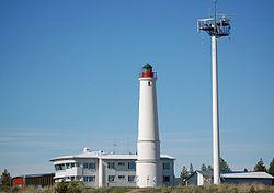 Lotsenstation und Leuchtturm in Marjaniemi