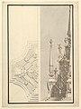 Half Ground Plan, Half elevation for a Catafalque for a Duchess de Berri MET DP820086.jpg