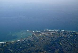 Half Moon Bay Airport - Half Moon Bay Airport facing West