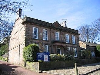 Clergy house - Image: Halton Vicarage