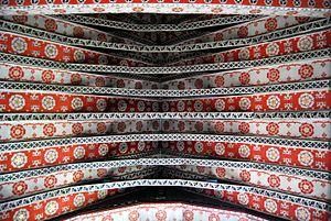 Hambleden - St Mary's Ceiling Detail