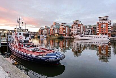 Vägbeskrivningar till Norra Hammarbyhamnen med kollektivtrafik