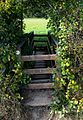 Hanbury, Worcs, bridge stile 1.jpg
