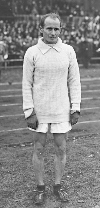 Hannes Kolehmainen - Hannes Kolehmainen in 1920