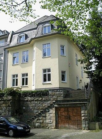 Hans Jonas - Birth house of Hans Jonas in Mönchengladbach.