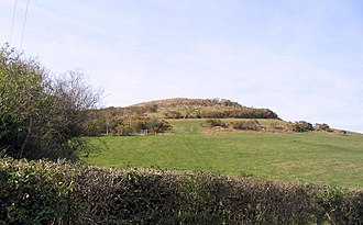 Hardown Hill - Image: Hardown Hill from the road to Ryall geograph.org.uk 390270