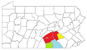 Harrisburg-York-Lebanon, PA Combined Statistical Area