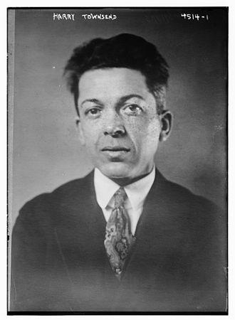 Harry Everett Townsend - Townsend in 1918