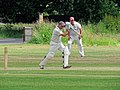 Hatfield Heath CC v. Takeley CC on Hatfield Heath village green, Essex, England 23.jpg