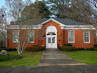 West Point, Georgia - Image: Hawkes Children's Library of West Point, Georgia