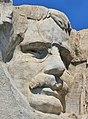 Head of Theodore Roosevelt at Mount Rushmore.jpg