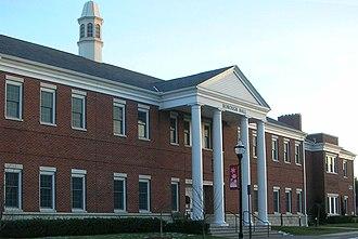 Hasbrouck Heights, New Jersey -  Borough Hall (January 2009)