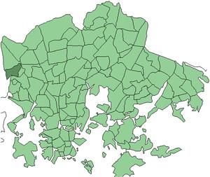 Reimarla - Image: Helsinki districts Reimarla 1