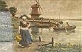 Henri Houben - Hollands melkmeisje.JPG